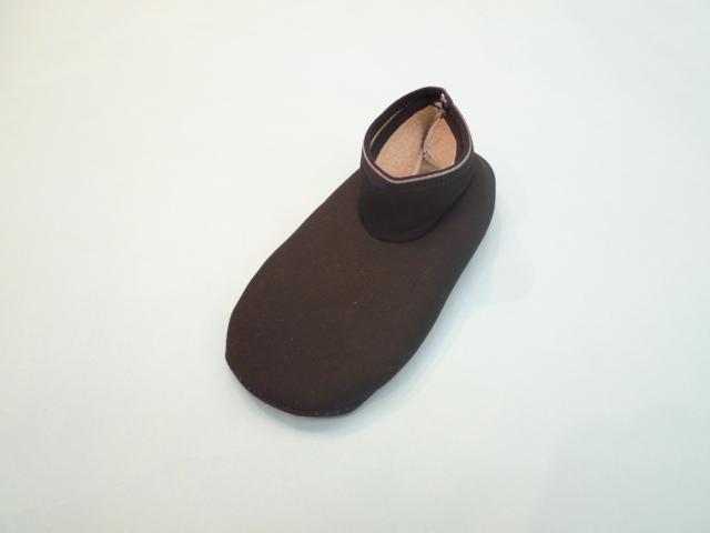 ショートポソン(ボア付くつ下)・フリーサイズ/黒
